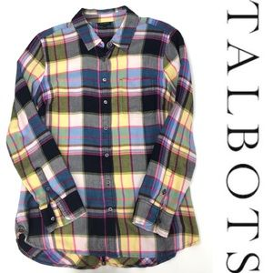 Talbots Button Up Blouse